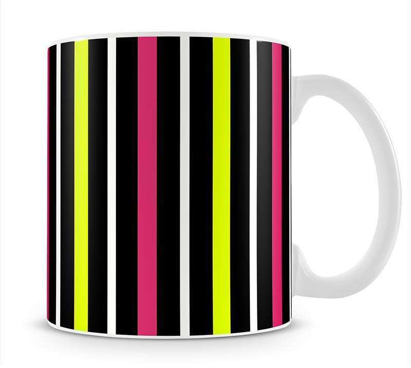 Colour Stripes FS Mug - Canvas Art Rocks - 1