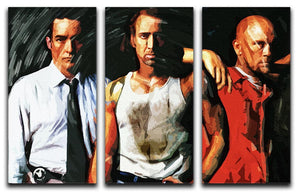 Con Air 3 Split Panel Canvas Print - Canvas Art Rocks