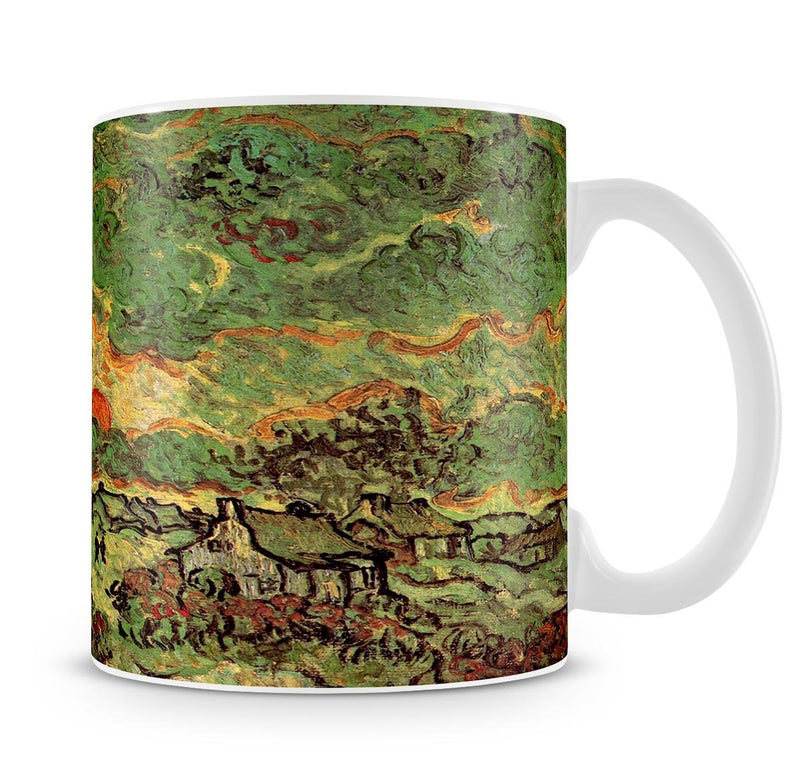 Cottages and Cypresses Reminiscence of the North by Van Gogh Mug - Canvas Art Rocks - 4