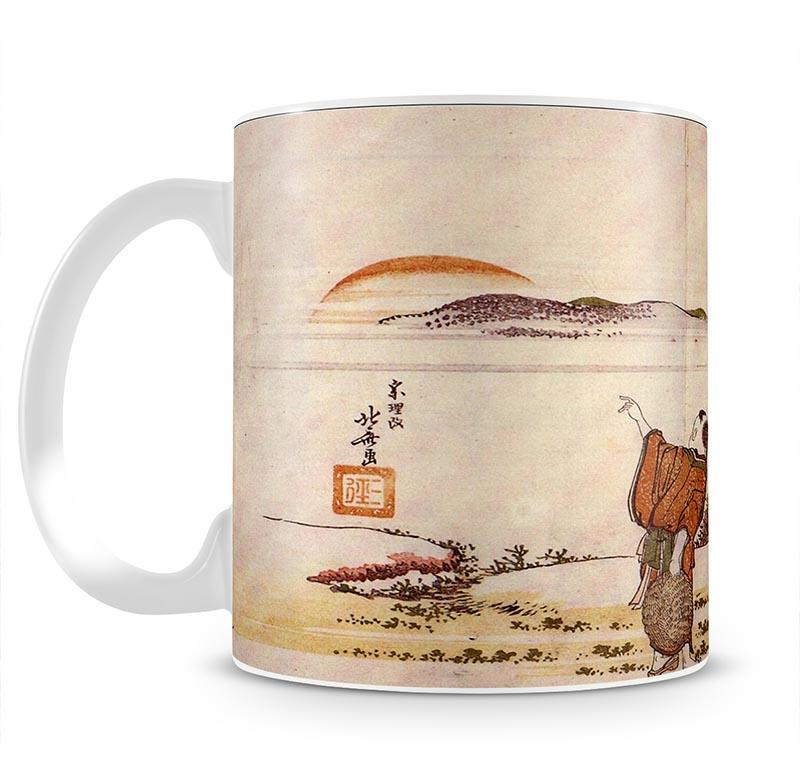 Crazy poetry by Hokusai Mug - Canvas Art Rocks - 2