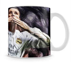 Cristiano Ronaldo Kiss Mug - Canvas Art Rocks - 1