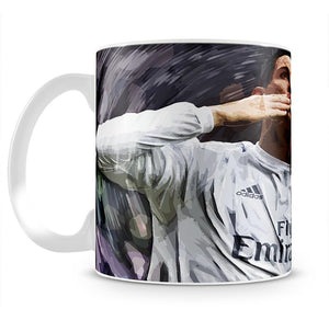 Cristiano Ronaldo Kiss Mug - Canvas Art Rocks - 2