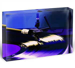 DJ Record Deck Acrylic Block - Canvas Art Rocks - 1