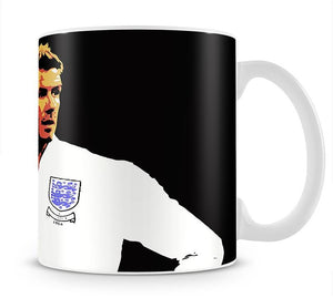 David Beckham Pop Art Mug - Canvas Art Rocks - 1
