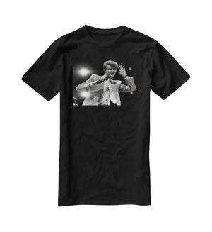David Bowie in concert T-Shirt - Canvas Art Rocks - 1