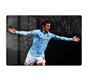 David Silva Manchester City HD Metal Print