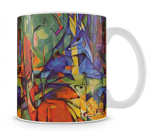 Deer in Forest by Franz Marc Mug - Canvas Art Rocks - 1