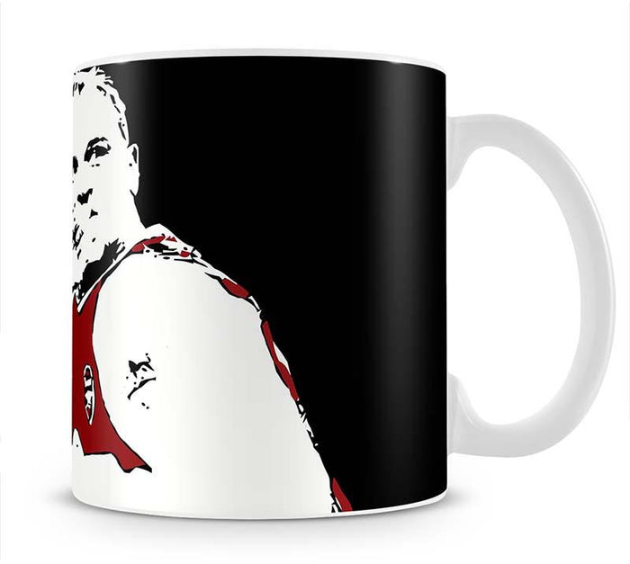 Dennis Bergkamp Close Up Mug