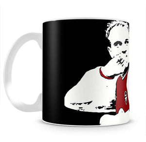 Dennis Bergkamp Close Up Mug - Canvas Art Rocks - 2