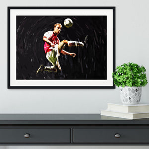 Dennis Bergkamp Framed Print - Canvas Art Rocks - 1