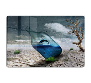 Desert In A Bottle HD Metal Print
