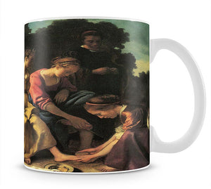 Diana and her nymphs by Vermeer Mug - Canvas Art Rocks - 1