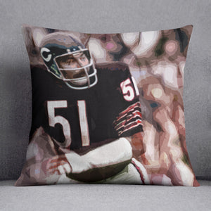 Dick Butkus Chicago Bears Cushion