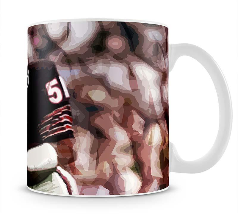 Dick Butkus Chicago Bears Mug - Canvas Art Rocks - 1