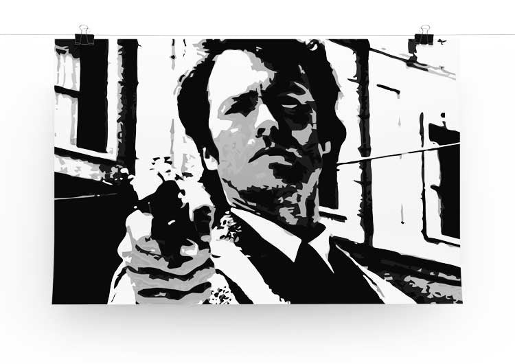Dirty Harry Feelin' Lucky Punk Print - Canvas Art Rocks - 3