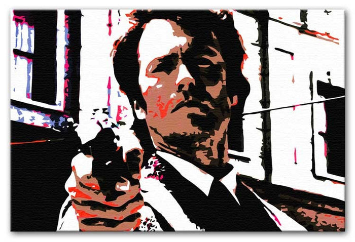 Dirty Harry Feelin' Lucky Punk Canvas Print or Poster