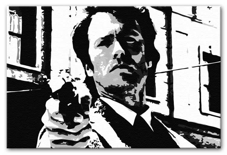 Dirty Harry Feelin' Lucky Punk Print - Canvas Art Rocks - 4