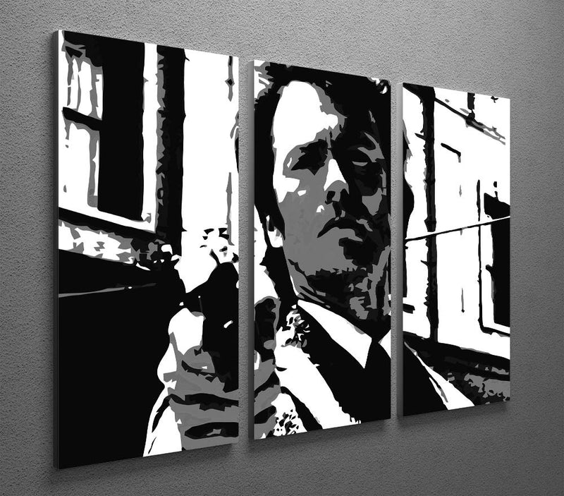 Dirty Harry Feelin' Lucky Punk 3 Split Panel Canvas Print - Canvas Art Rocks