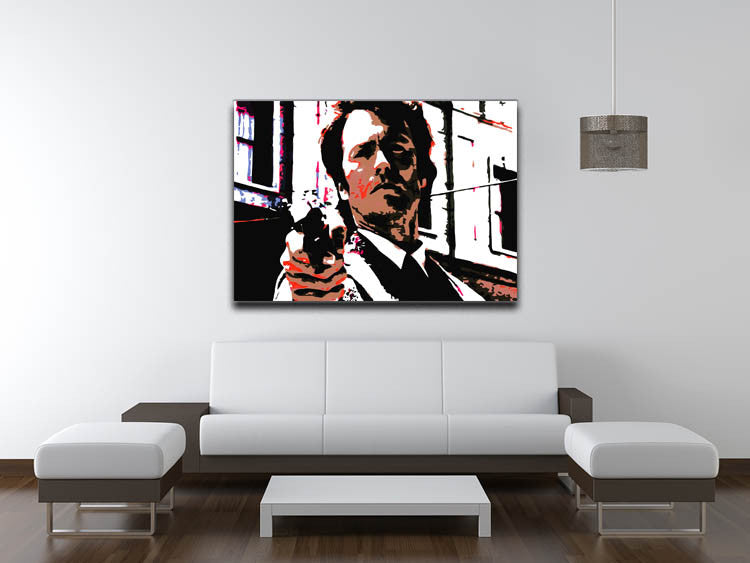 Dirty Harry Feelin' Lucky Punk Canvas Print & Poster - Canvas Art Rocks