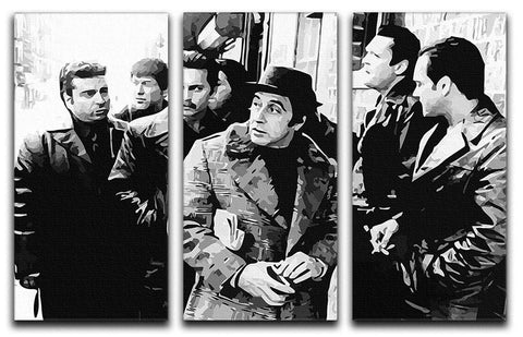 Donnie Brasco 3 Split Panel Canvas Print