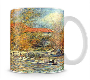 Duck pond by Renoir Mug - Canvas Art Rocks - 1