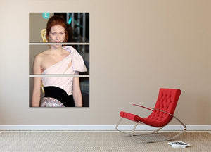Eleanor Tomlinson 3 Split Panel Canvas Print - Canvas Art Rocks - 2