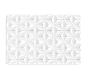 Elegant White Geometric Background HD Metal Print - Canvas Art Rocks - 1