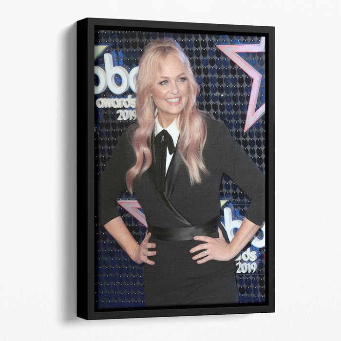 Emma Bunton Floating Framed Canvas