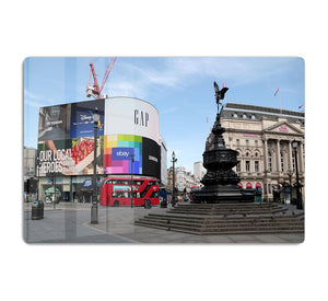 Empty Piccadilly Circus London under Lockdown 2020 HD Metal Print - Canvas Art Rocks - 1