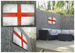 England Flag Metal Print - Canvas Art Rocks - 2