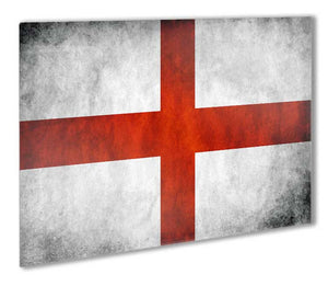 England Flag Metal Print - Canvas Art Rocks - 1