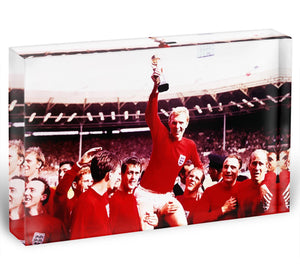 England World Cup 1966 Acrylic Block - Canvas Art Rocks - 1