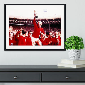 England World Cup 1966 Framed Print - Canvas Art Rocks - 1