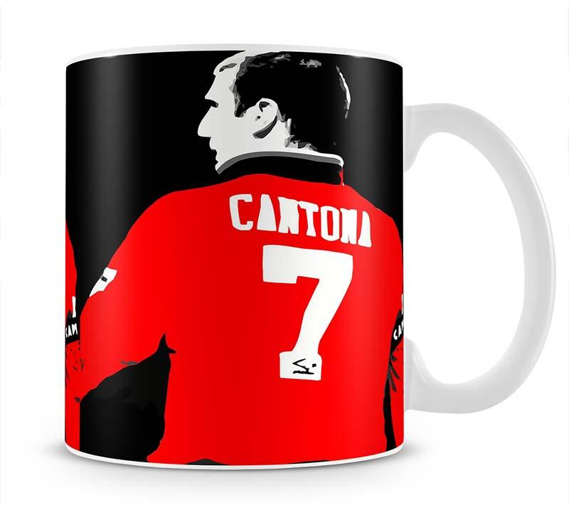 Eric Cantona No 7 Mug - Canvas Art Rocks - 1