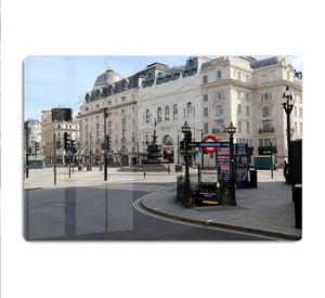Eros Piccadilly Circus London under Lockdown 2020 HD Metal Print - Canvas Art Rocks - 1