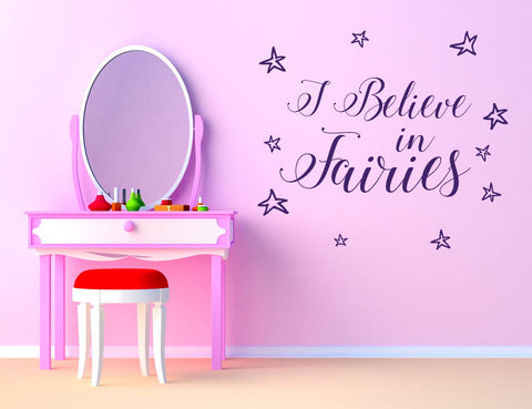 Fairies Wall Sticker - They'll Love Wall Art - 1