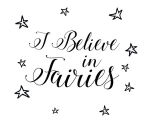 Fairies Wall Sticker - Canvas Art Rocks - 2