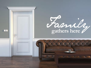 Family Wall Sticker - Canvas Art Rocks - 1