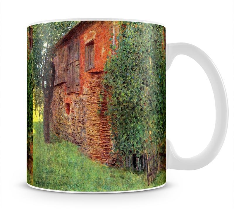 Farmhouse in Chamber in Attersee by Klimt Mug - Canvas Art Rocks - 1