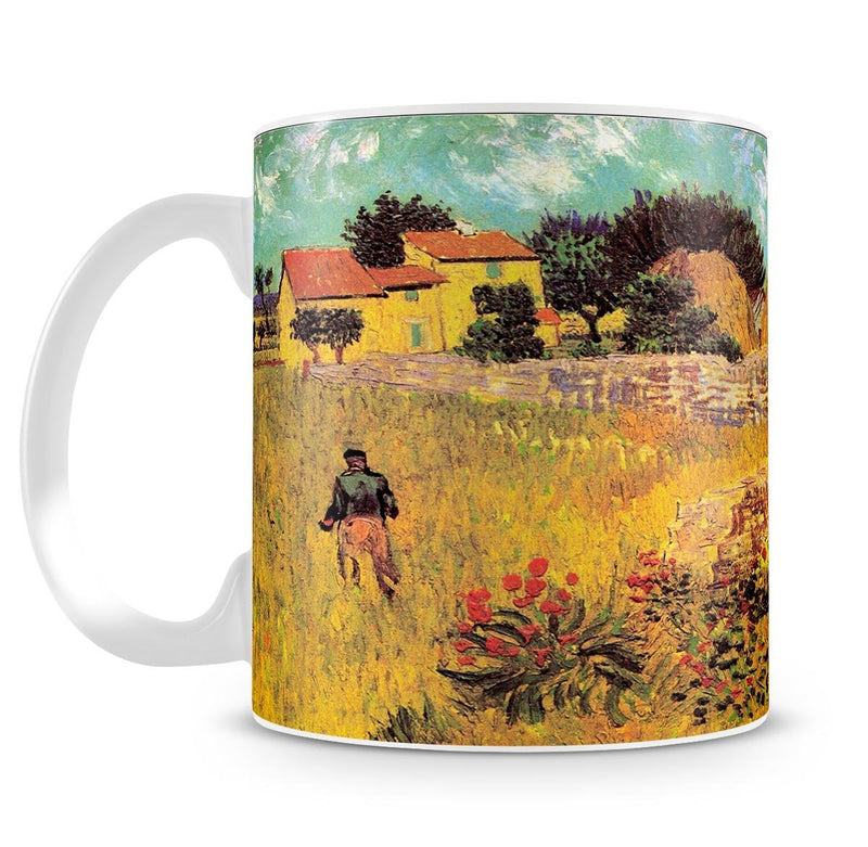 Farmhouse in Provence by Van Gogh Mug - Canvas Art Rocks - 4