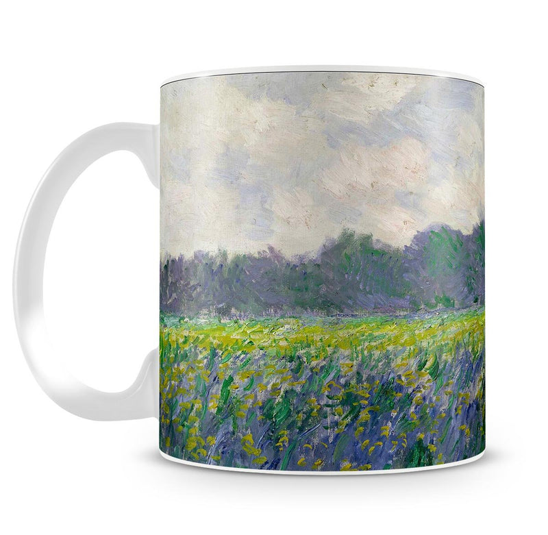Field of Yellow Irises by Monet Mug - Canvas Art Rocks - 4