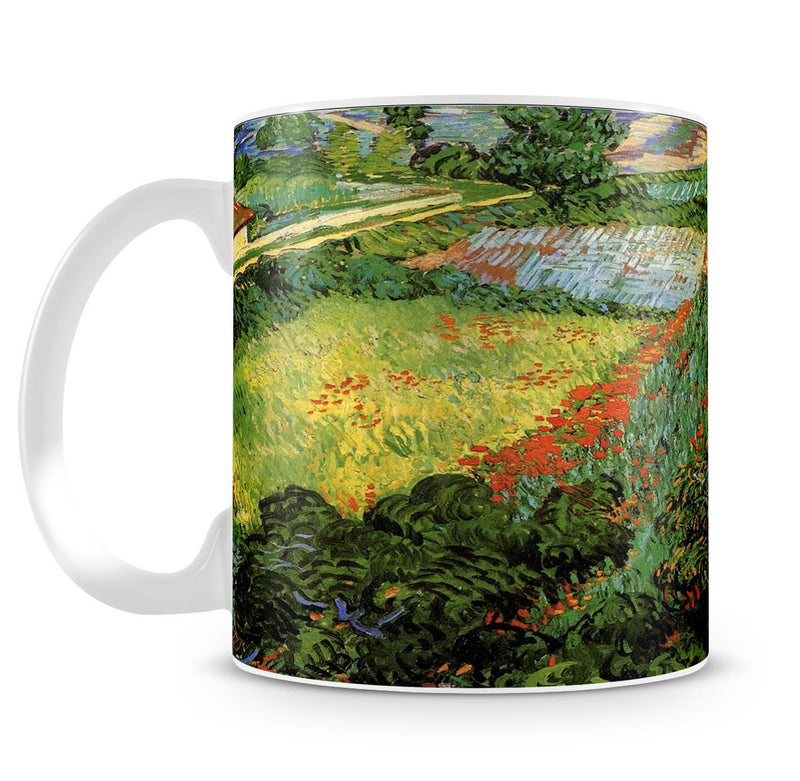 Field with Poppies by Van Gogh Mug - Canvas Art Rocks - 4