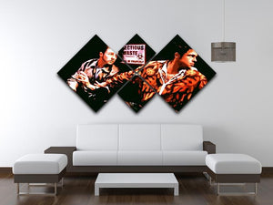 Fight Club Pop Art 4 Square Multi Panel Canvas - Canvas Art Rocks - 3