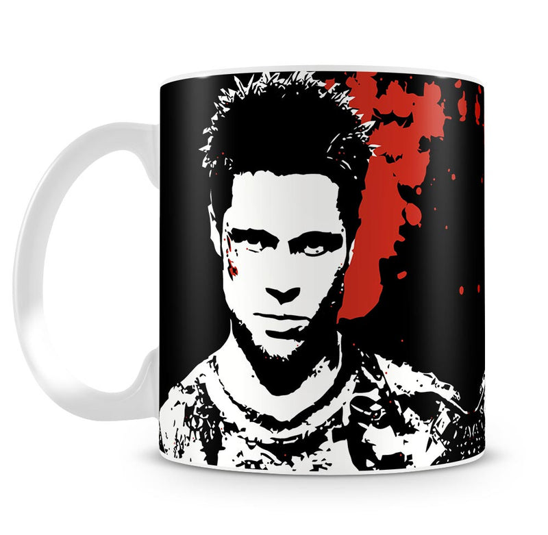 Fight Club We Do Not Mug - Canvas Art Rocks
