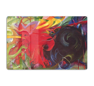 Fighting forms by Franz Marc HD Metal Print