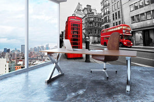 Fleet street London Wall Mural Wallpaper - Canvas Art Rocks - 3