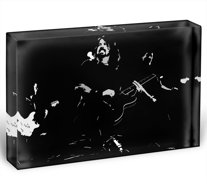 Foo Fighters Acrylic Block