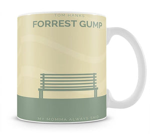 Forrest Gump Minimal Movie Mug - Canvas Art Rocks - 1