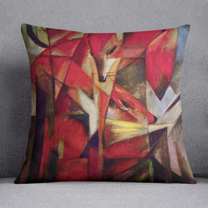 Foxes by Franz Marc Cushion
