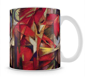 Foxes by Franz Marc Mug - Canvas Art Rocks - 1